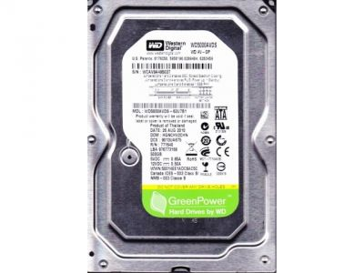 hdd wd 500 wd5000avds