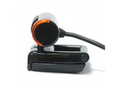 webcam dialog wc-21 black-orange