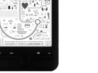 handpc wexler-book e-book e6003b likenew