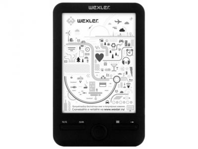 handpc wexler-book e-book e6003b badpack