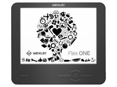 handpc wexler-flex e-book one black likenew