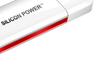 usbdisk silicon power luxmini 320 8gb white