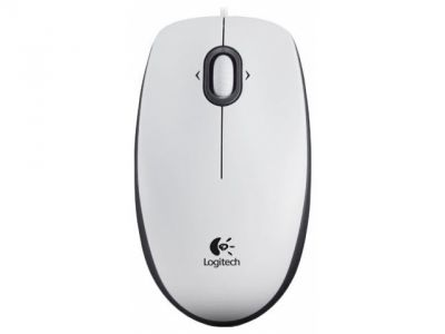 ms logitech m100 white
