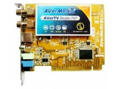 tuner tv fm avermedia studio 707