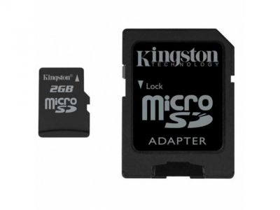 flash microsd 2g kingston