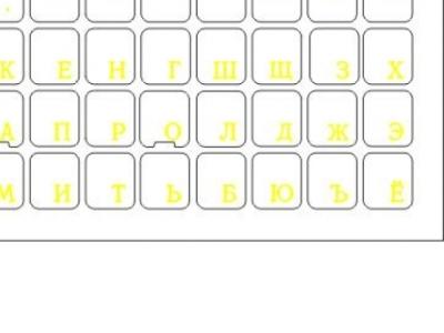 nbacs key-labels rus yellow gel