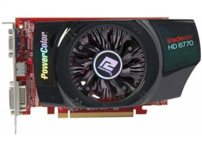 vga powercolor pci-e ax6770-1gbd5-hv2 1024ddr5 128bit box