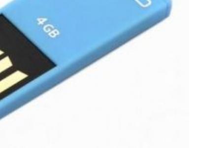 usbdisk qumo sticker 8g blue