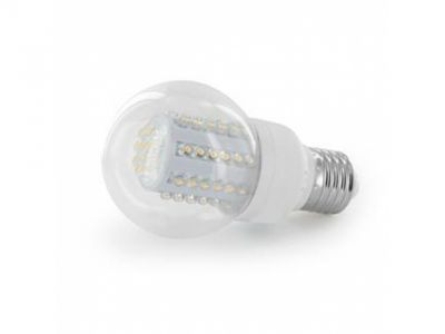 light lamp whitenergy 07564 led b60 60led e27 3w 6000k
